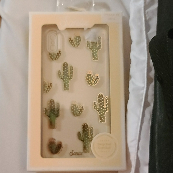Sonix Apple iPhone Clear Coat Case - Prickly Pear